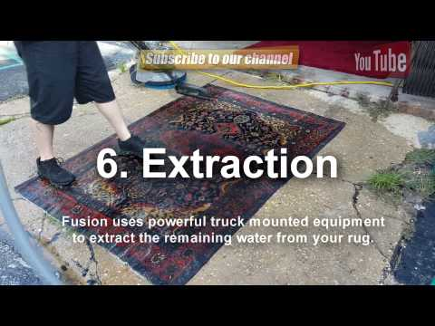 Rug Cleaning Video. How to Cleaned Natural fibers 850-651-6600