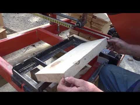 Adjustment to shingle jig for Woodmizer Lt15