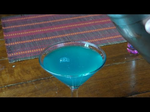 Cocktail Gun Metal Blue (Sabores del Mundo)