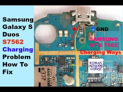 Samsung Galaxy S Duos S7562 Charging,USB Problem How To Fix