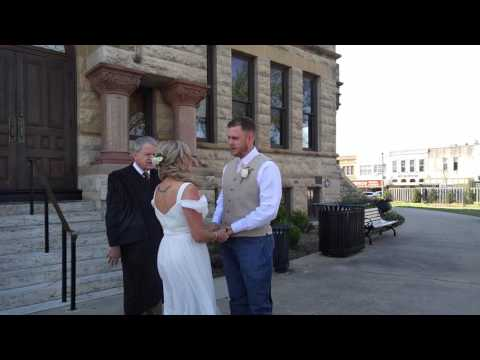 Amber and Dustin wedding