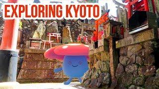 FUSHIMI INARI SHRINE & POKEMON CENTER KYOTO   Pokemon GO Vlog   ZoeTwoDots