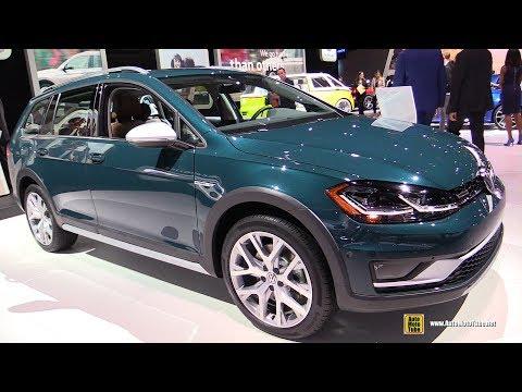 2018 Volkswagen Golf Alltrack - Exterior and Interior Walkaround - 2017 LA Auto Show