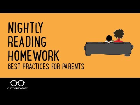 Nightly Reading Homework: Best Practices for Parents