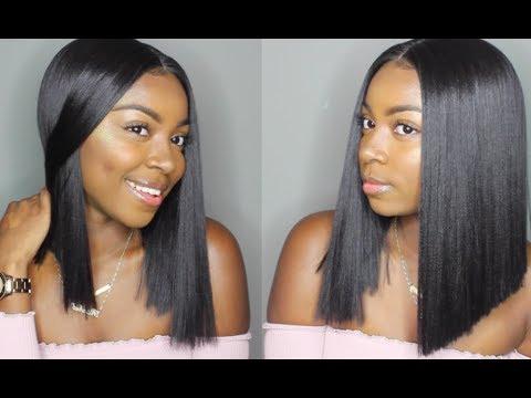 $40 Blunt BOB: Bobbi Boss Yara Lace Front Wig | locobeauty.com