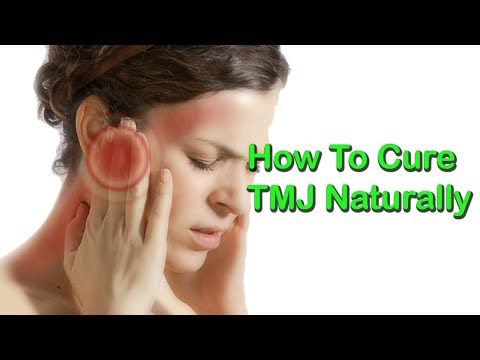 How To Cure TMJ Naturally And Permanently At Home ( temporomandibular joint )