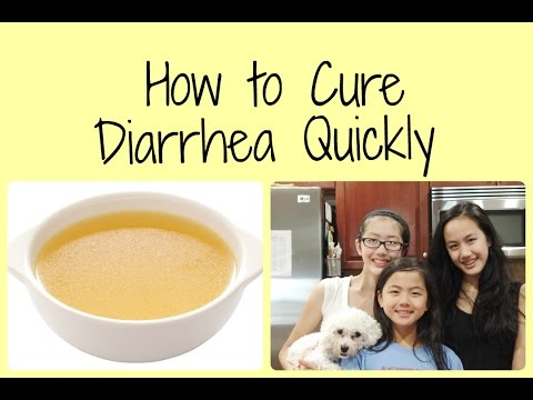Cure Diarrhea Fast  (HUMANS & DOGS)- Grandma's Natural Home Remedy