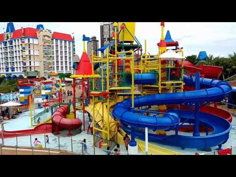 Visit to Legoland Malaysia Resort and Legoland Water park.  Ninjago is open now!