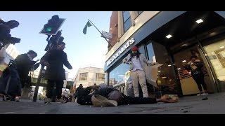 Vegan Man Attacks Meat Eater in Public