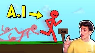 Stickman A.I. Learns To Walk