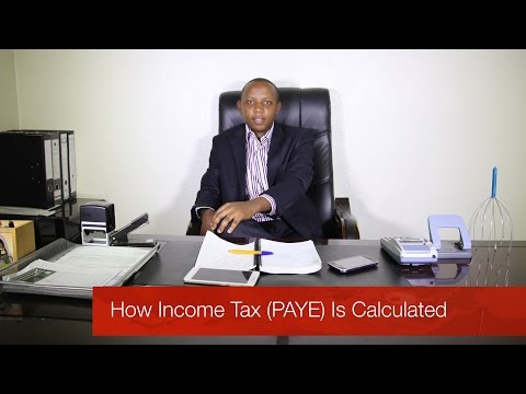How Income Tax (PAYE) Is Calculated - Money Matters With Wilson Kamau (@Alpha_cap)