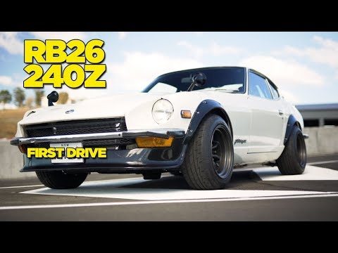 RB26 240Z REVEAL - IT'S FINISHED!!