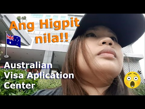 Australian Visa Application Center (Tagalog Vlog) | Chubby Catt Vlogs