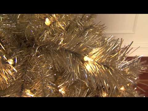 Champagne Gold Artificial Christmas Tree