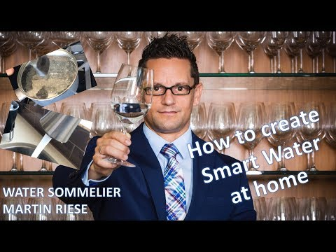 How to create Smart Water at home - It's nothing else than boiled up tap water!