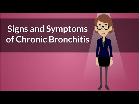 Signs and Symptoms of Chronic Bronchitis