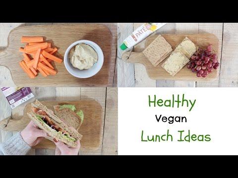 Healthy Vegan Lunch Ideas   YUMMY VEGAN