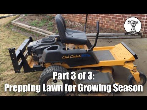 Preparing for Grass Cutting Season - Part 3