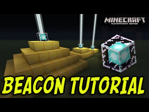 Minecraft (PS3, PS4, Xbox, Wii U) - BEACON TUTORIAL - Title Update 19