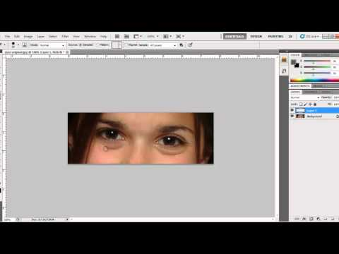 Beginner Friendly Adobe Photoshop Tutorial: How To Remove Bags Under Eye(s) From An Image