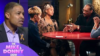 Was Jada Pinkett Smith Too Harsh On Snoop Dogg On Red Table Talk? - The Mike & Donny Show