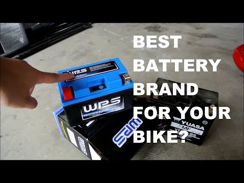 2017 Best Motorcycle Lithium Battery? (And why it's not Shorai!)