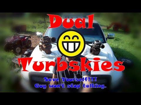 Quest 4 Compound Turbos on our Cummins 12 Valve!