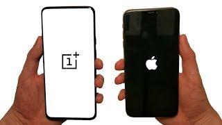 OnePlus 7 Pro vs iPhone XS Max Speed Test, Speakers & Cameras!