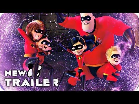 Incredibles 2 All Clips & Trailer (2018) Disney Pixar Movie