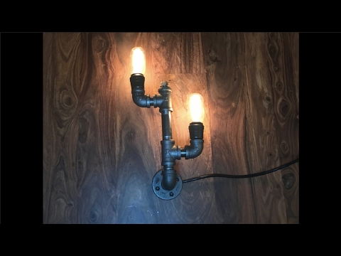 Build a Steampunk Lamp - Easy DIY Video Tutorial