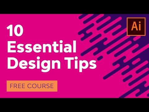 10 Essential Design Tips for Illustrator