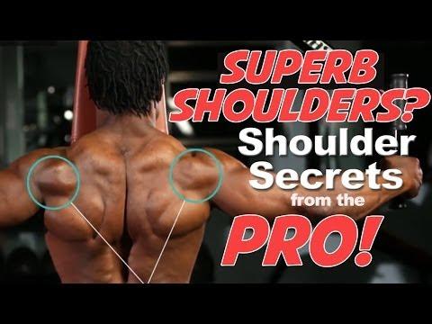 Shoulders: Here's how the pros build Massive Shoulders.