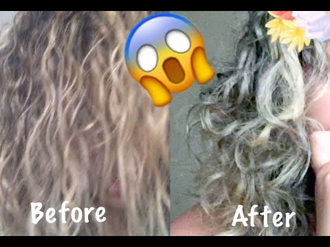 GET YOUR CURLS BACK AFTER BLEACHING