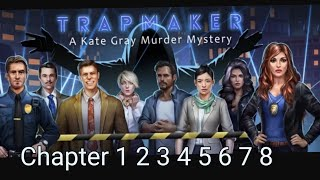 Adventure Escape Mysteries Trapmaker Chapter 1 2 3 4 5 6 7 8 FULL Game Walkthrough