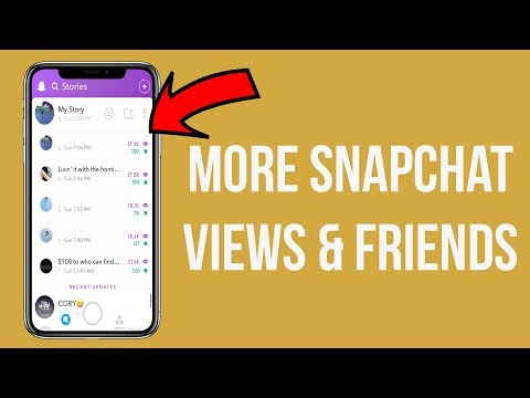 How to Get More VIEWS On Snapchat! (More Views On Snapchat Story) (Get More Friends On Snapchat)