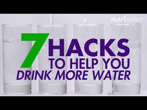 7 Easy Ways To Drink More Water