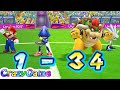 Mario Sonic At The London 2012 Olympic Games Team Sonic Bowser Play Football CRAZYGAMINGHUB