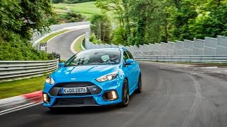 Ford Focus RS Mk3 Nordschleife 8.06 min HOT LAP Supertest sport auto