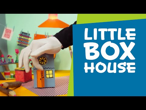 How to Make a Cardboard Box House | SuperHands: Easy Crafts, DIY Craft Ideas for Kids Toys