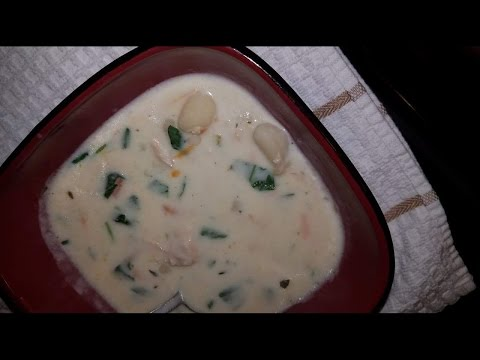 Cooking with Mark Olive Garden Chicken and Gnocchi Soup Copy