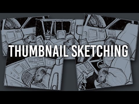 Watch Me Draw - Thumbnail Sketches - Going back to Twitch?