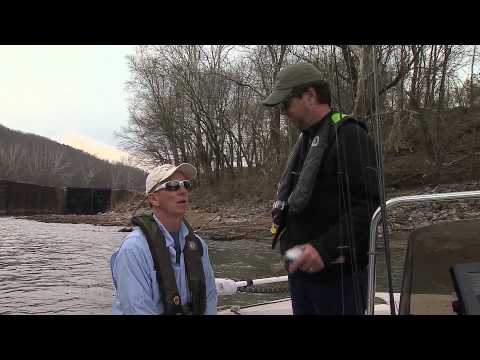 Sauger Fishing on KY River