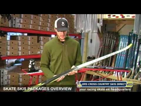 Skate Ski Packages (Skis, Boots, Bindings & Poles) Overview Video by ORS Cross Country Skis Direct