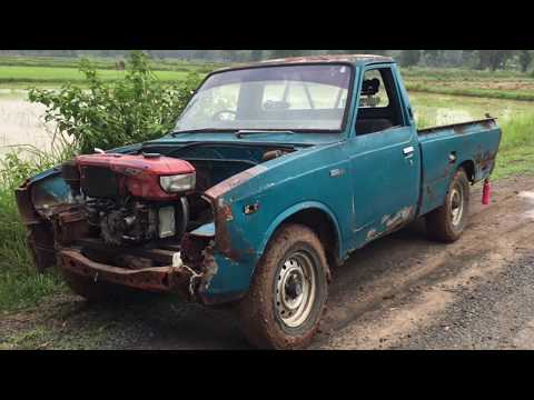 Pickup truck with tractor Diesel engine