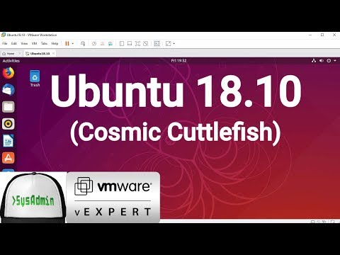 How to Install Ubuntu 18.10 + VMware Tools + Review on VMware Workstation [2018]
