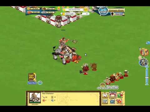 Social Empires - Bull Gladiator .wmv