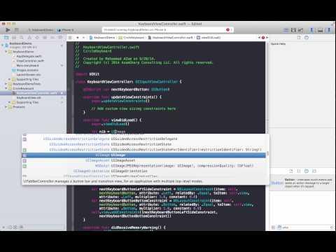Learning iOS Development Part 70 Creating a Custom iOS 8 Keyboard Extension