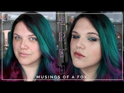 Full Face & Chit Chat GRWM | Makeup Geek Eyeshadows | Musing of a Fox