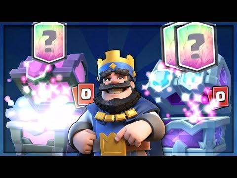 DOUBLE LEGENDARIES! DRAFT CHEST & MAGICAL CHEST OPENING :: Clash Royale :: 2X LEGENDARIES FROM CHEST