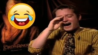 Top 10 Celebs ★ Who Can't Stop Laughing